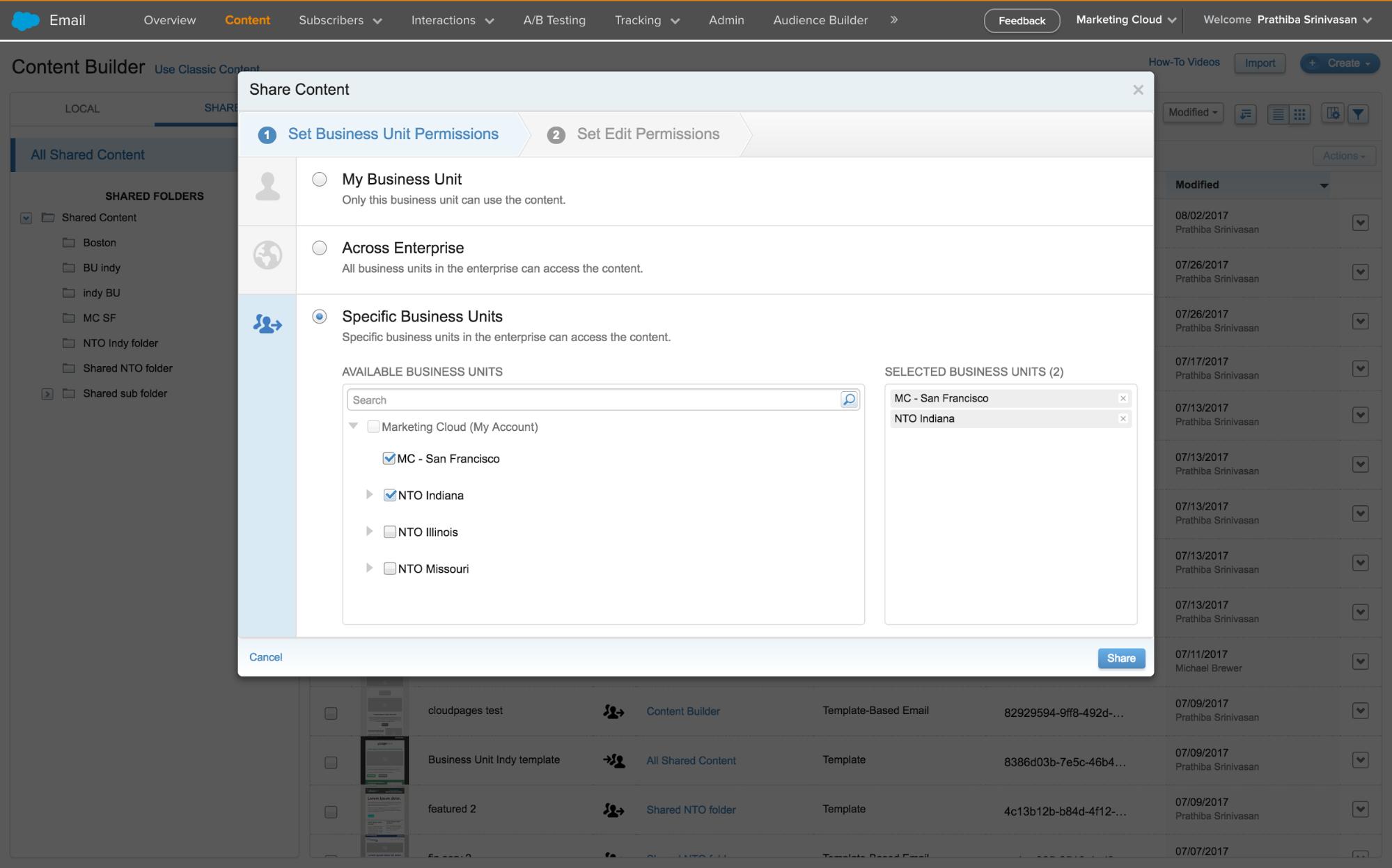 Salesforce Marketing Cloud August 2017 release