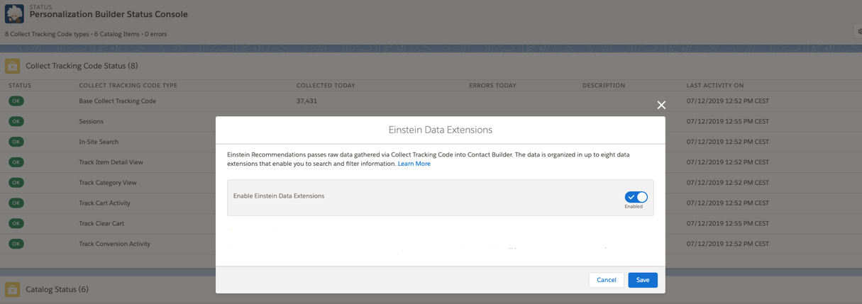 Personalization Builder: The setup in Salesforce Marketing Cloud -